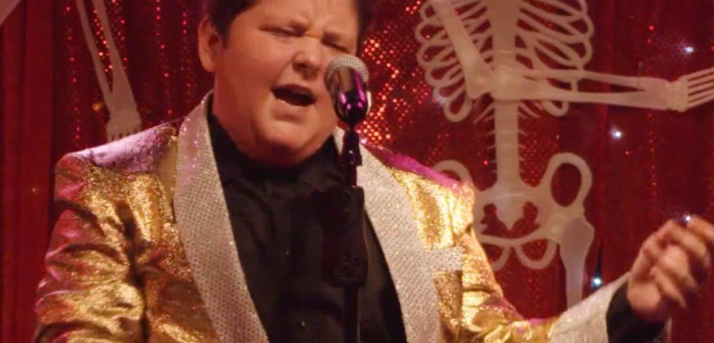 Alfie - a teenage Elvis tribute act